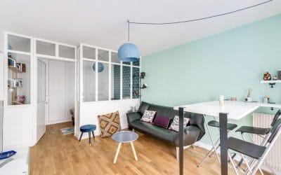 Studio parisien à aménager