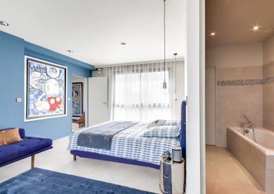 amenagement surelevation maison marcel yol vanves suite adolescente chambre salle de bain vue 1 kaizo studio architecte interieur paris bourg la reine web