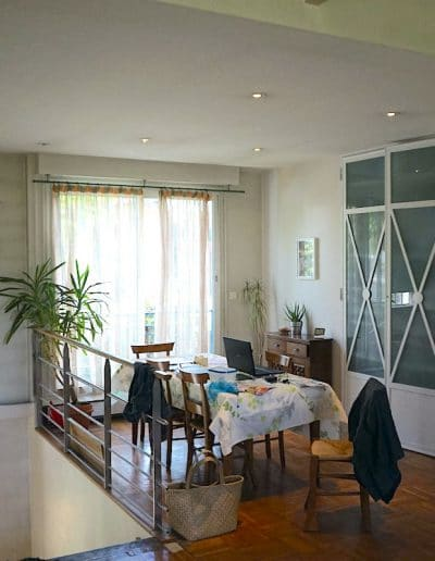 avant maison de la bievre bourg la reine salle a manger vue 1 kaizo studio architecte interieur paris bourg la reine web