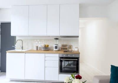 renovation appartement de paris bievres cuisine ouverte ikea metod voxtorp sejour canape couloir kaizo studio architecte interieur paris bourg la reine web