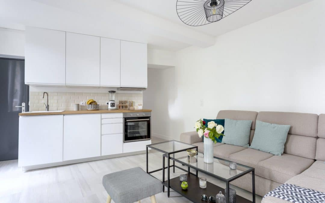 Réhabilitation & rénovation d'un appartement à Bièvres
