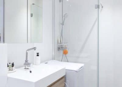 renovation appartement de paris bievres salle de douche vasque ikea godmorgon kaizo studio architecte interieur paris bourg la reine web