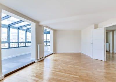 renovation appartement locatif ledru rollin paris sejour verriere avec vue chambre kaizo studio architecte interieur paris bourg la reine web