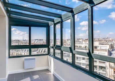 renovation appartement locatif ledru rollin paris verriere avec vue tour eiffel montmartre kaizo studio architecte interieur paris bourg la reine web