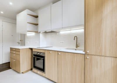 renovation appartement locatif maillard paris cuisine ouverte ikea metod ekestad entree kaizo studio architecte interieur paris bourg la reine web