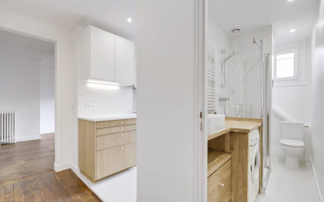 Rénovation d'un investissement locatif à Paris