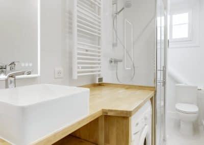renovation appartement locatif maillard paris salle de bain meuble vasque sur mesure machine a laver kaizo studio architecte interieur paris bourg la reine web