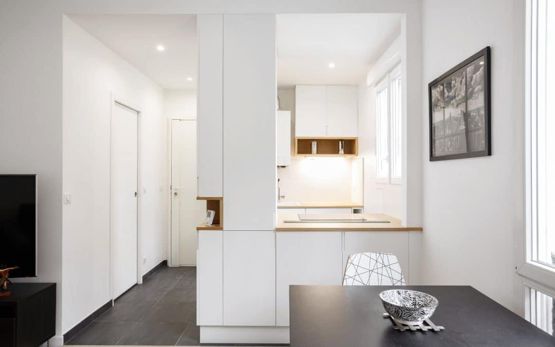 Rénovation d'un appartement à Vanves