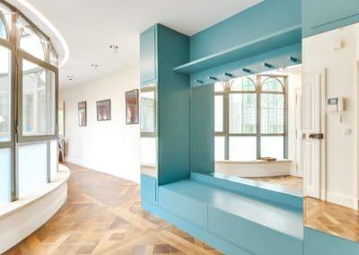 renovation appartement quai montebello paris entree kaizo studio architecte interieur paris bourg la reine web