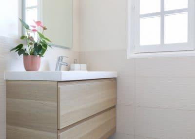 renovation maison georges clemenceau maisons alfort etage salle de bain meuble vasque kaizo studio architecte interieur paris bourg la reine web