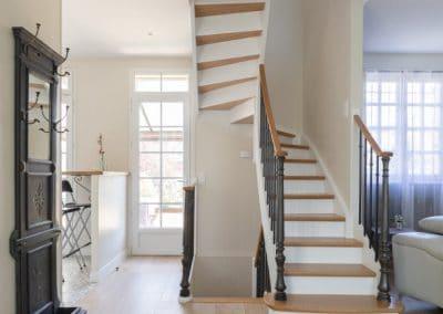 renovation maison georges clemenceau maisons alfort rdc entree escalier kaizo studio architecte interieur paris bourg la reine web