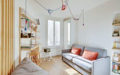 Studio parisien à redistribuer et rénover