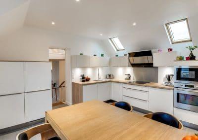 transformation appartements duplex du president roosevelt sceaux cuisine table a manger escalier sejour kaizo studio architecte interieur paris bourg la reine web