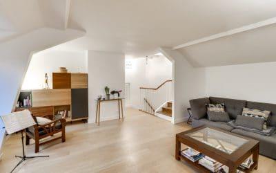 Deux appartements scéens à transformer en duplex