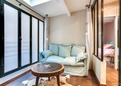 transformation atelier en appartement aboukir paris chambre dami verriere baies vitrage translucide kaizo studio architecte interieur paris bourg la reine web