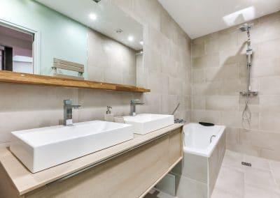 transformation atelier en appartement aboukir paris salle de bain inspiration ofuro double vasque douche baignoire kaizo studio architecte interieur paris bourg la reine web