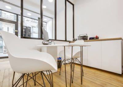 transformation boutique agence immobiliere mouton duvernet paris mobilier chaises go in pieds bureau ripaton kaizo studio architecte interieur paris bourg la reine web