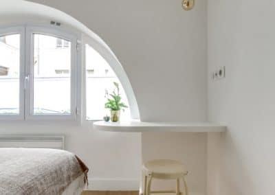 transformation local duplex habitation aboukir paris detail tablette bureau kaizo studio architecte interieur paris bourg la reine web